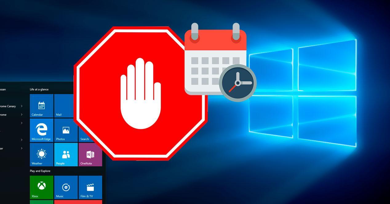 bloquear acceso a windows 10
