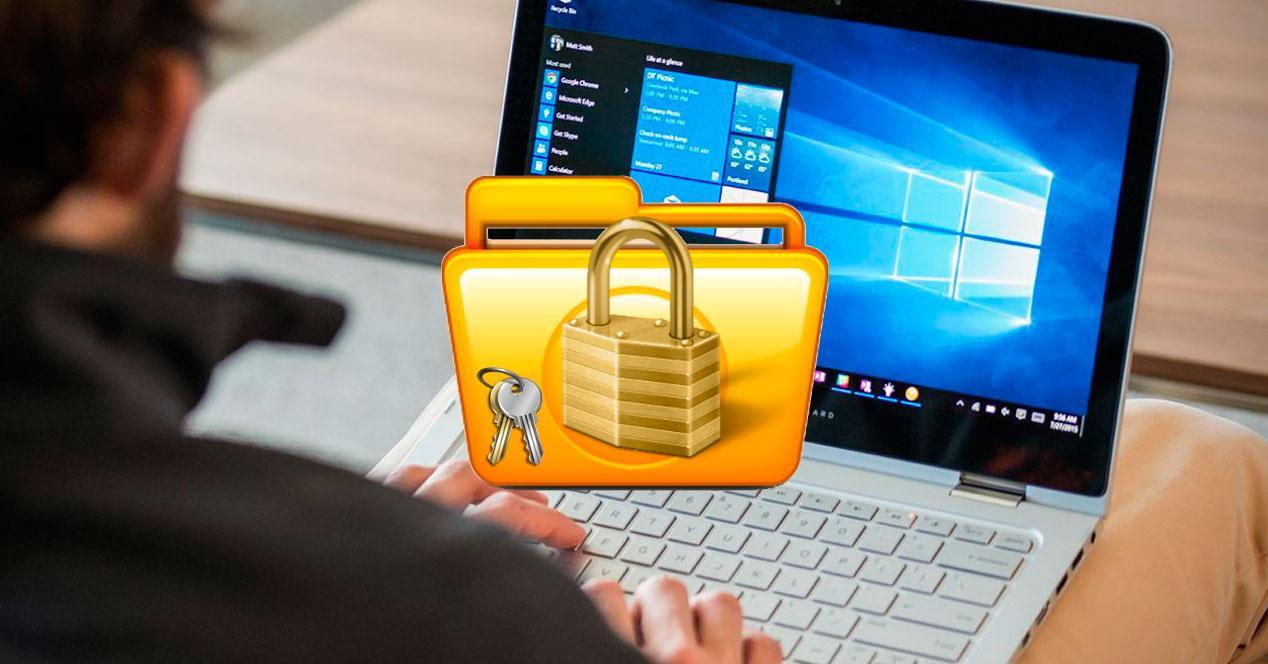bloquear archivos