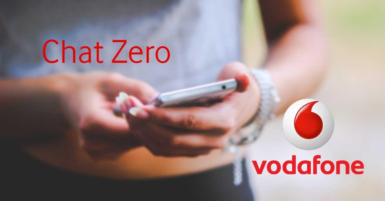 vodafone chat zero