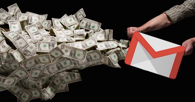 gmail enviar dinero