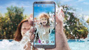 Todos los móviles resistentes al agua en 2017