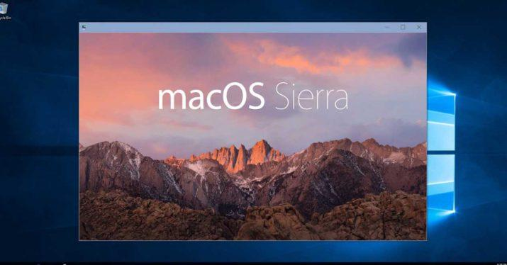 macos sierra windows 10