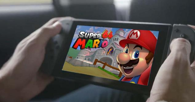 mario 64 nintendo switch