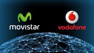 Vodafone ofrecerá fibra óptica de Movistar