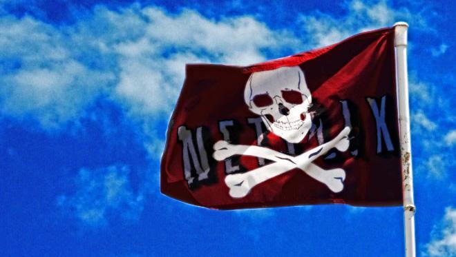 Netlix y la piratería