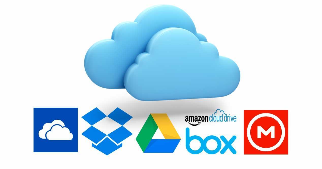 almacenamiento en la nube 2017