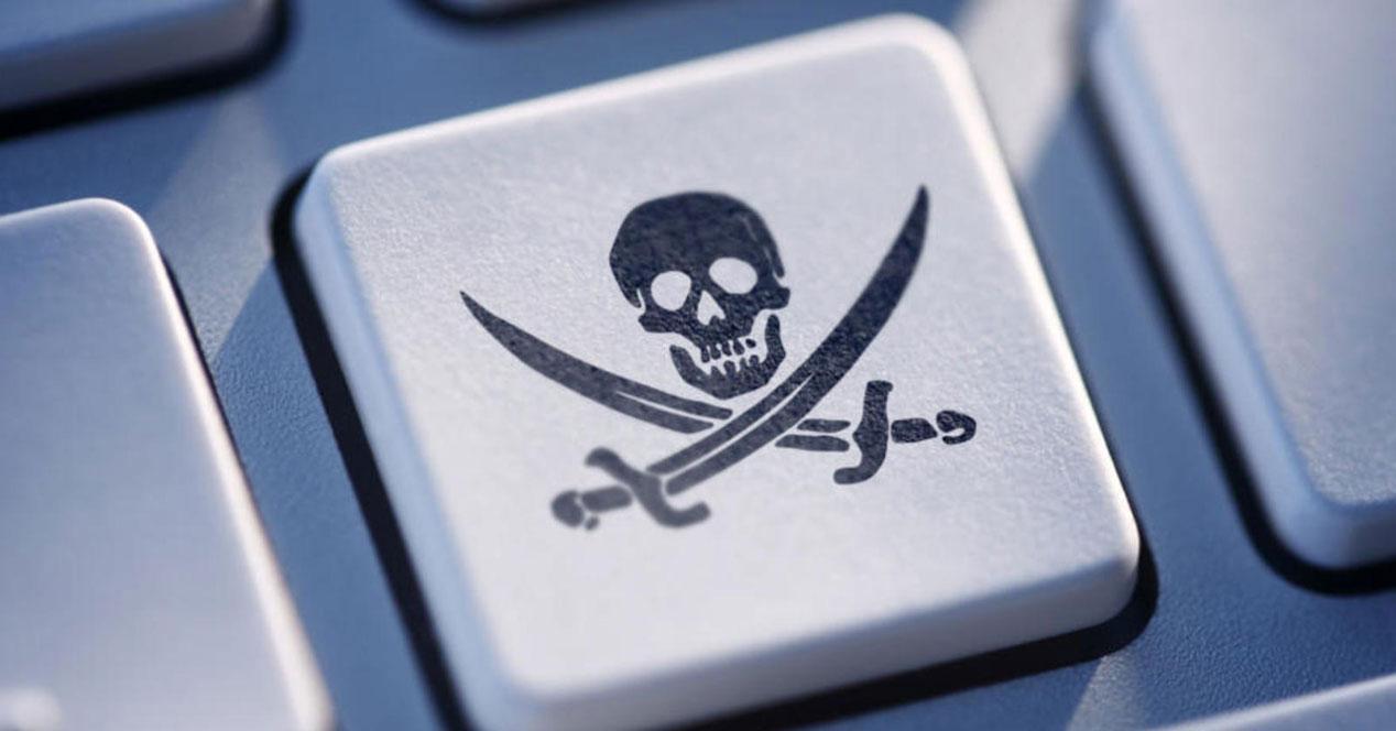 Piratería páginas
