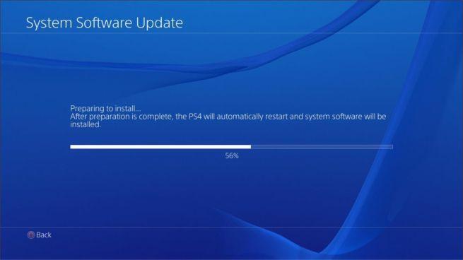 versión 4.50 de PS4