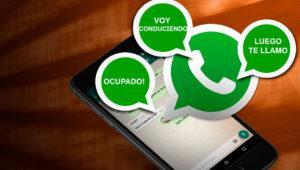 Cómo enviar respuestas automáticas en WhatsApp cuando estás ocupado