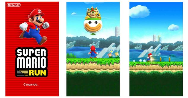 super mario run android inicio