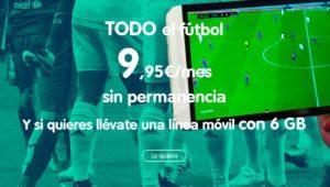 Nuevas tarifas y más canales para los que contraten el fútbol con Telecable en toda España