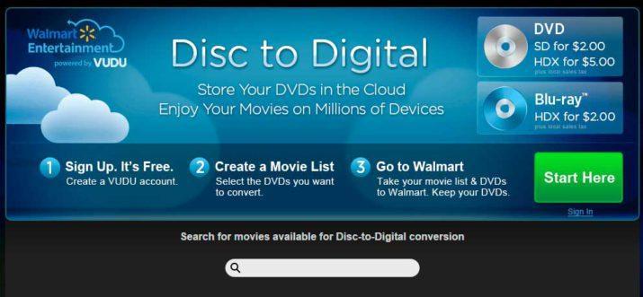 vudu DVD