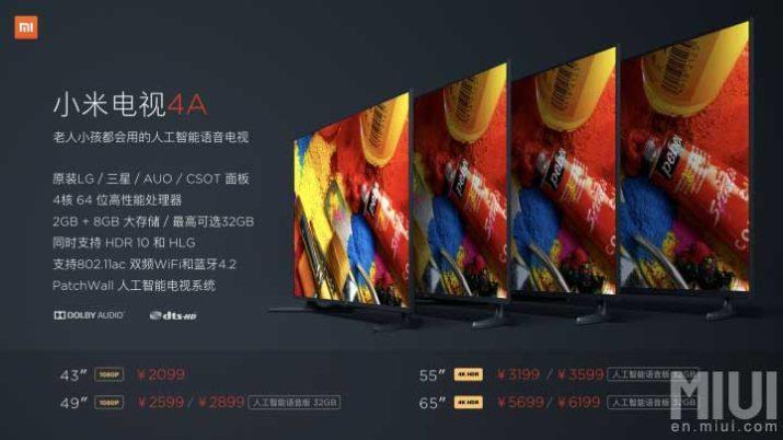 xiaomi-mi-tv-4a-precios