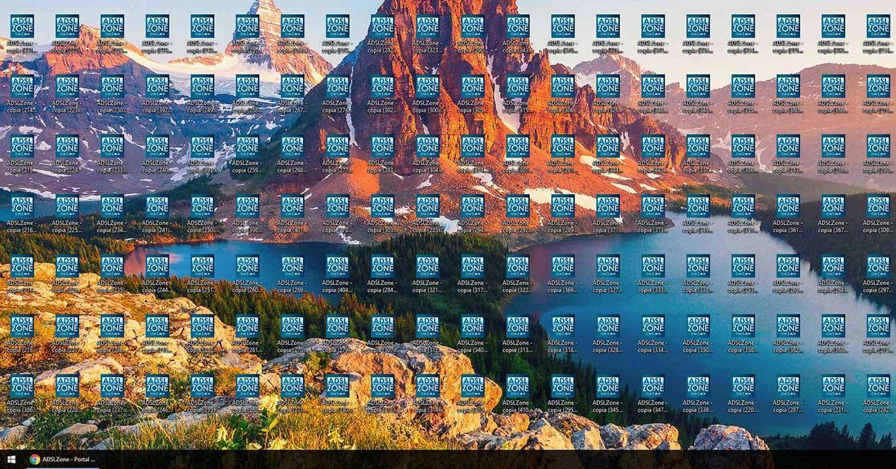 44d03aec3f381 Ralentiza el PC tener el escritorio lleno de iconos