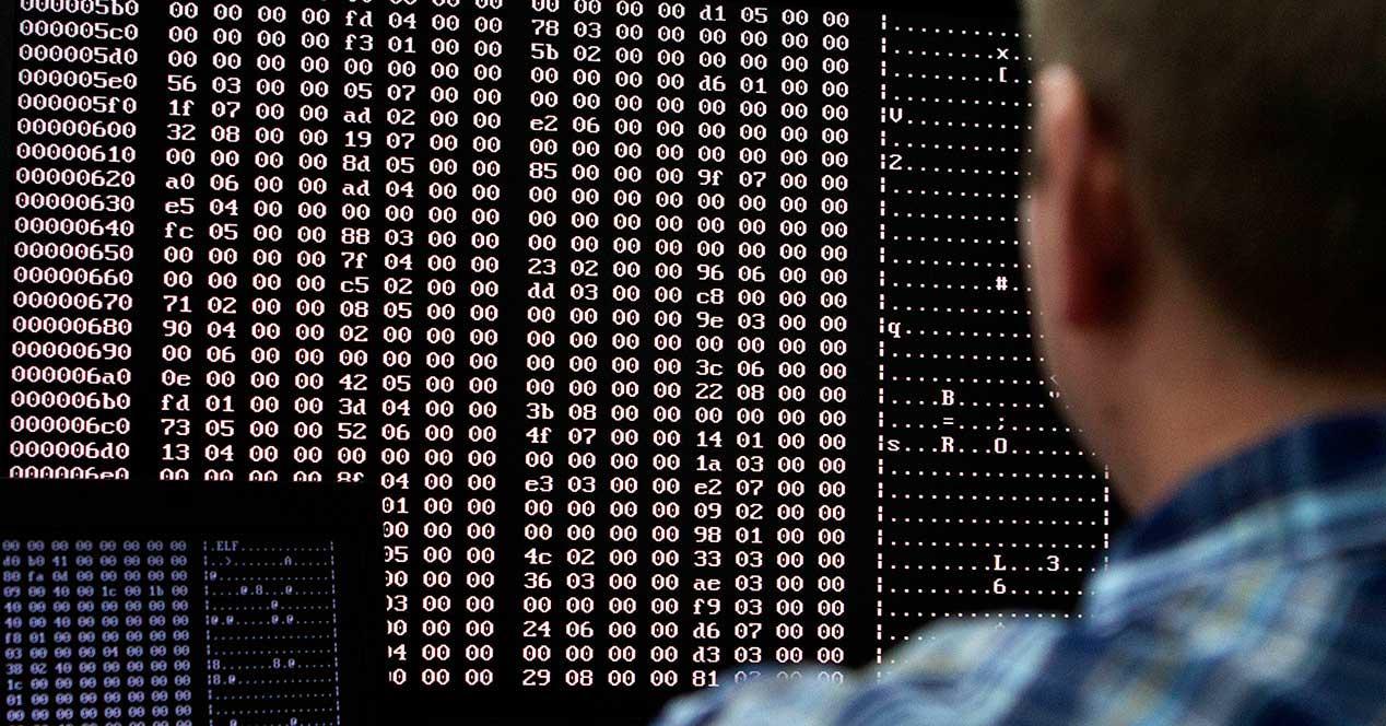 codigo-pantalla logs registros