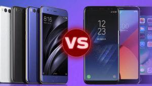 Comparativa: el Xiaomi Mi 6 contra los mejores móviles del año