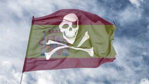 La piratería disminuye en España por primera vez en 10 años