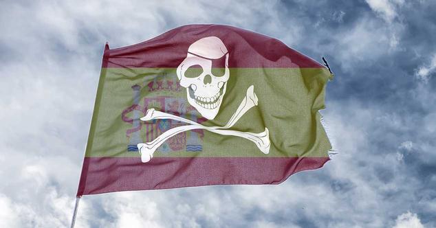 españa-piratería