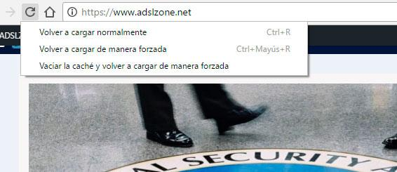 borrar la caché en Google Chrome