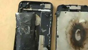 Otro iPhone 7 que explota