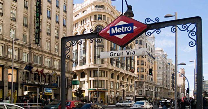 metro madrid gran via