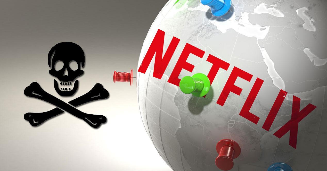 Netflix piratería