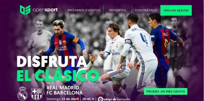Real Madrid Barcelona Opensport