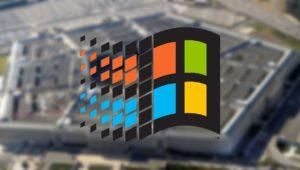 Muchos ordenadores del Pentágono todavía usan Windows 95 y 98