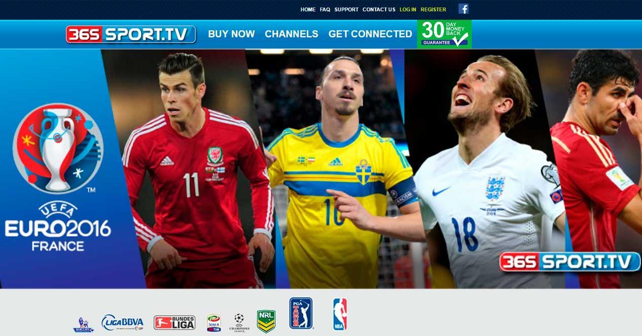 365sport canales de pago