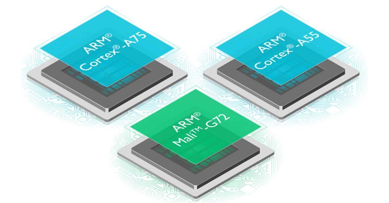 ARM-Cortex-A75-A55-Mali-G72 Snapdragon 845