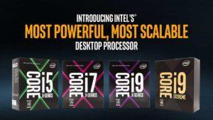 Intel Core-X: los procesadores Core i9 ya son oficiales, y son los mejores del mercado