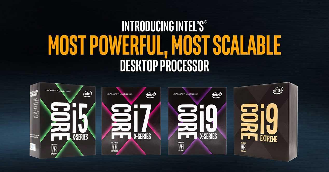 Intel Core-X-i5-i7-i9