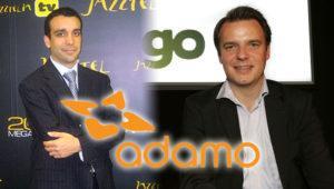 Los responsables del éxito de Yoigo y Jazztel se unen en Adamo