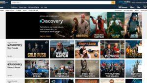 Amazon Prime Video ofrece también canales de televisión en Reino Unido y Alemania