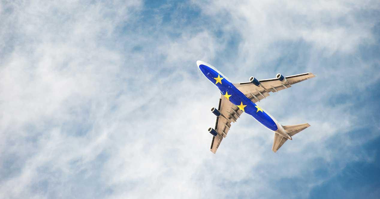 avion-ue portátiles prohibicion