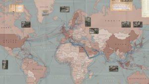 Mapa de todos los cables submarinos del mundo actualizado a 2017