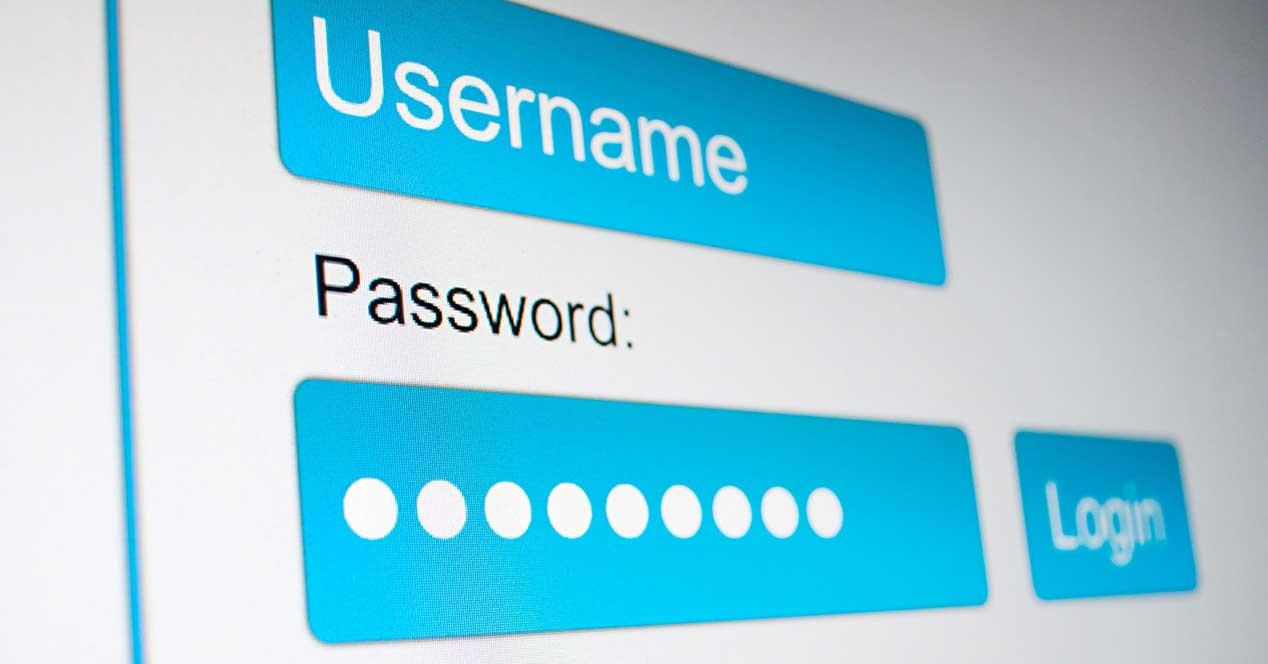 contraseñas password