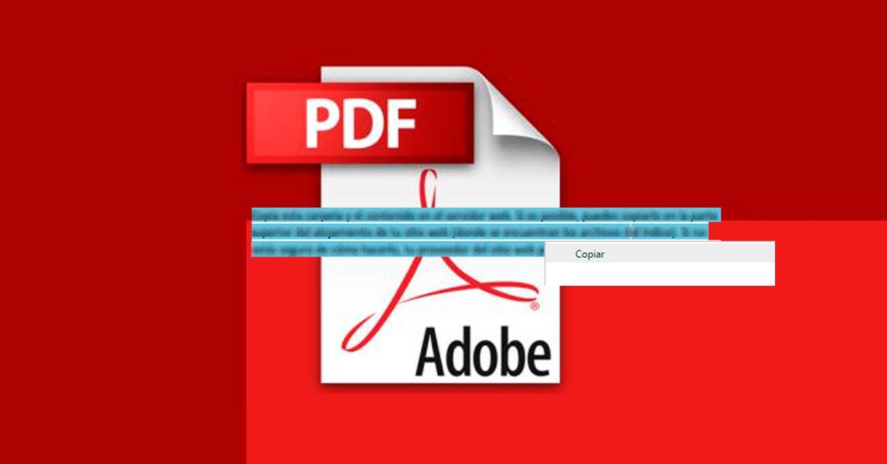 copiar texto PDF
