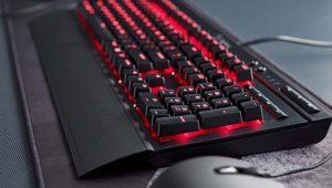 Corsair K68, un nuevo teclado mecánico con resistencia IP32