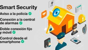 Smart Security, el servicio de alarma y hogar inteligente de Orange