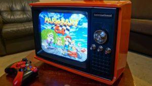 Convierten una TV antigua en una consola retro con Raspberry Pi en su interior