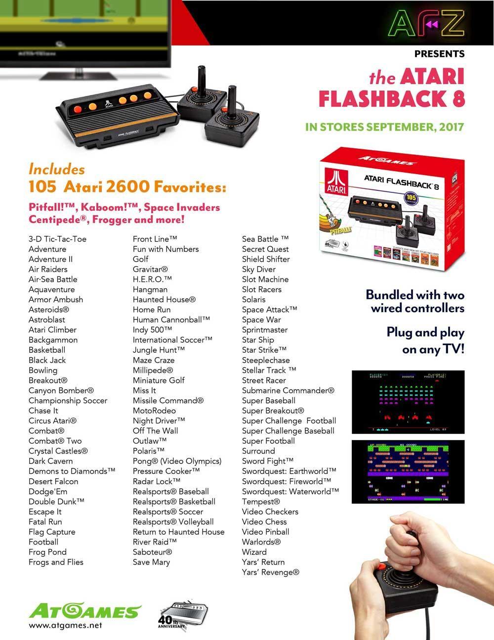 Resucitan la sega genesis y la mega drive en el foro - Atari flashback classic game console game list ...