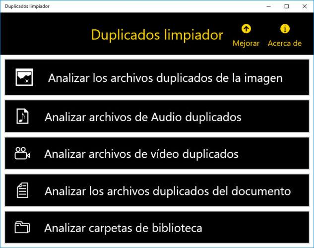 archivos duplicados