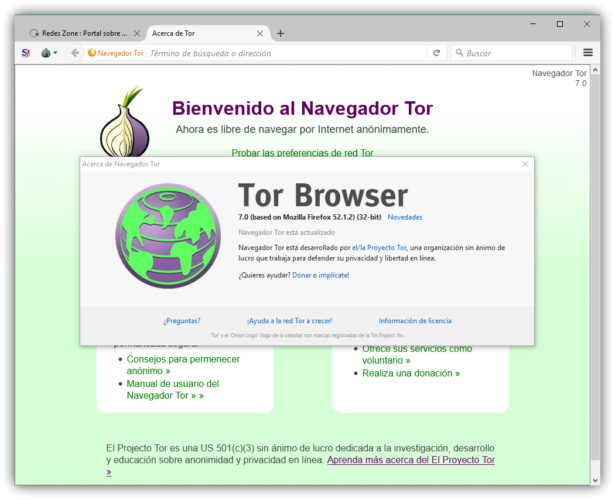Tor Browser 7.0