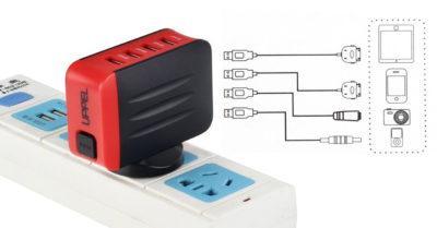 Adaptador de corriente para viajes