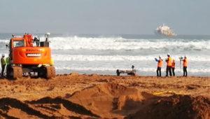 Así estamos viviendo la instalación del cable submarino que unirá España con Estados Unidos