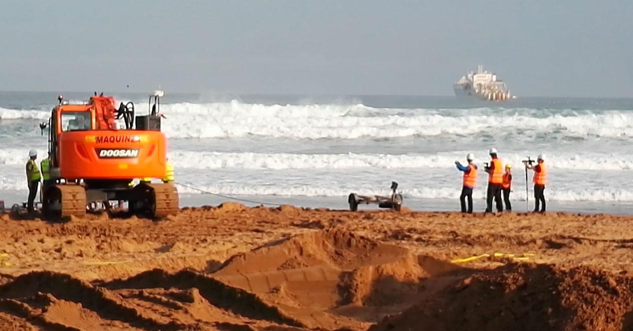 MArea cable submarino