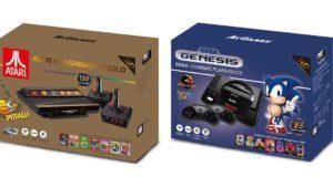 Resucitan la Sega Genesis, Mega Drive y la Atari 2600 en estas versiones