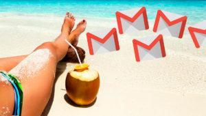 Cómo crear una respuesta automática en Gmail cuando te vas de vacaciones