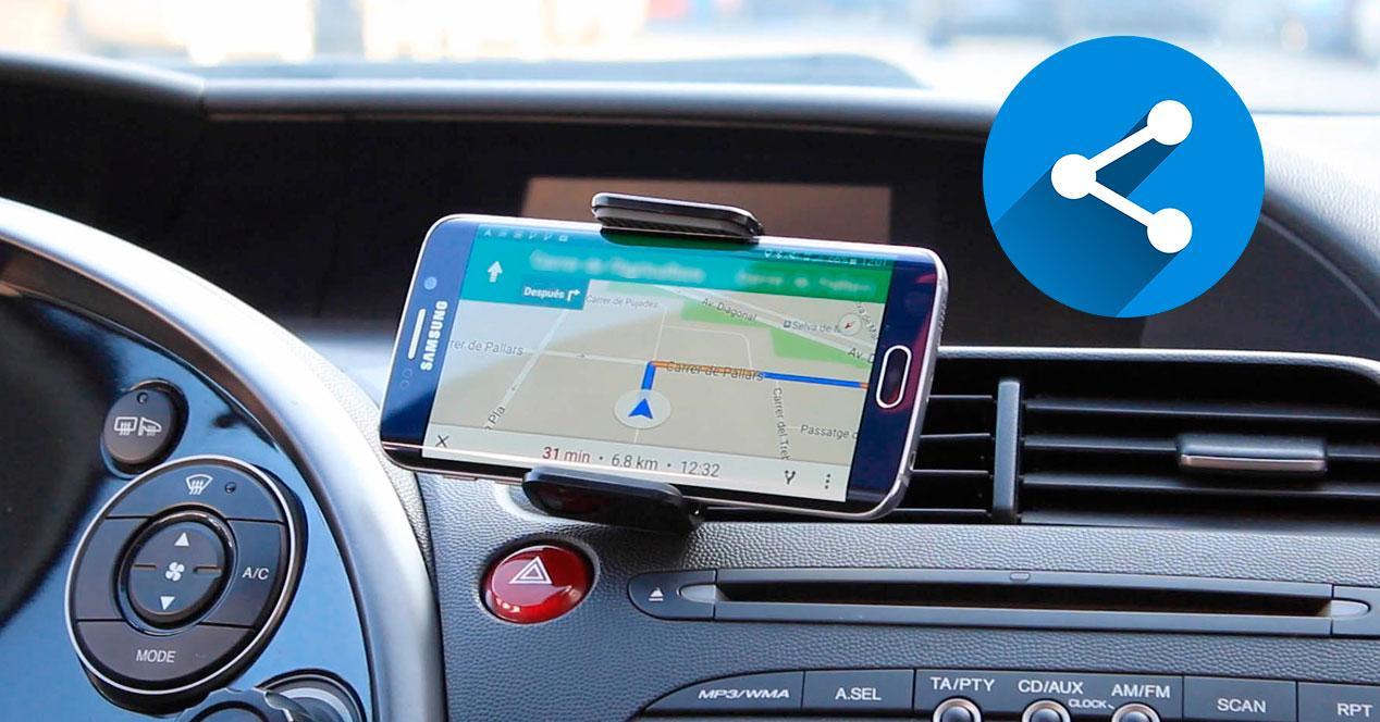 compartir tu viaje en google maps